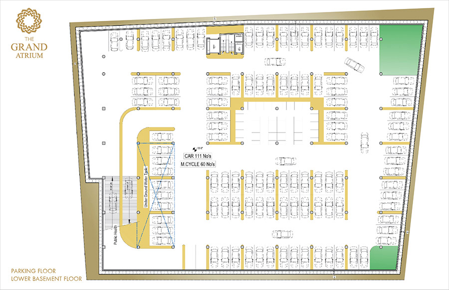 Project details the grand atrium shopping mall faisalabad for House plan with basement parking